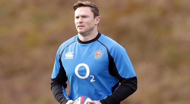 England wing Chris Ashton will miss out on Saturday's Guinness Six Nations title clash with Wales because of a calf injury (Adam Davy/PA)