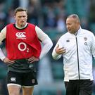Chris Ashton, left, will not feature in Cardiff (Andrew Matthews/PA)