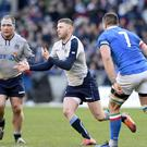 Finn Russell is an injury doubt for Scotland (Ian Rutherford/PA)