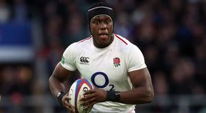 Maro Itoje is to miss England's Six Nations clash with Wales (Adam Davy/PA)