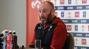 Robin McBryde wants Wales to be in inspired mood against England (Joe Giddens/PA)