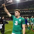 Jordi Murphy has been named in Joe Schmidt's starting line-up against Italy.