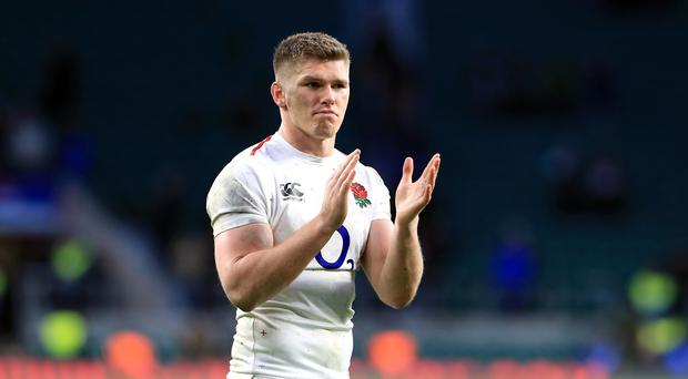 Owen Farrell does not believe England will be phased by any Wales mind games (Gareth Fuller/PA)