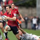 Darren Sweetnam was a bright spark for Munster (Brian Lawless/PA)