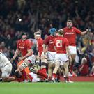 Wales secured a huge victory over England (David Davies/PA)