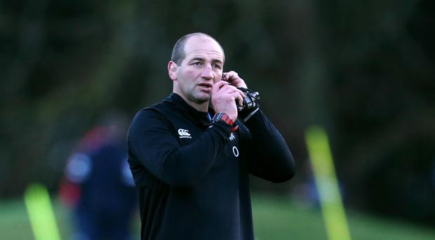 """Steve Borthwick claims clashes between England and Georgia players in training was """"pushing and shoving"""". (Steve Paston/PA)"""
