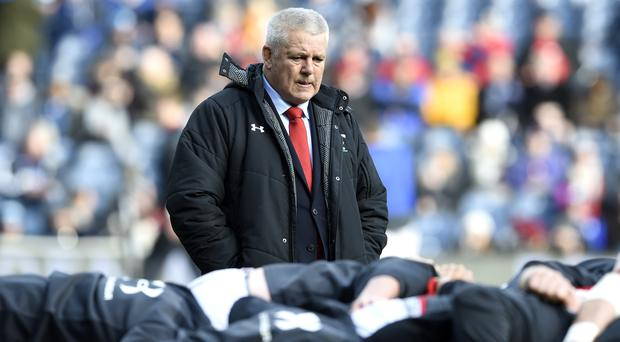 Warren Gatland has the chance to oversee a record third Grand Slam (Ian Rutherford/PA)