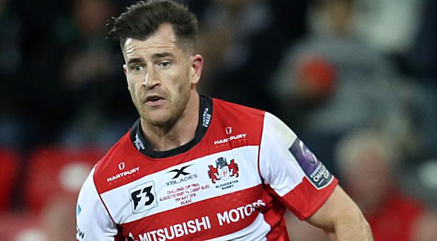 Mark Atkinson's hat-trick helped Gloucester claim victory over Northampton (Adam Davy/PA)