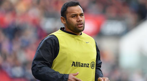 Billy Vunipola was booed by fans as Saracnes lost to Bristol in the Gallagher Premiership (Simon Galloway/PA)