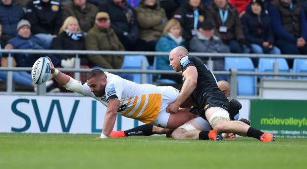 Wasps stunned Exeter at Sandy Park (Simon Galloway'PA)