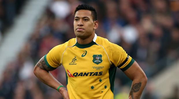 Israel Folau chose not to appeal against his sacking (Lynne Cameron/PA)