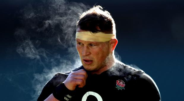 Dylan Hartley has been ruled out of the rest of the campaign (Adam Davy/PA)