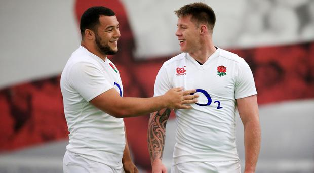 Teimana Harrison, right, has not played for England for three years. (Nick Potts/PA)