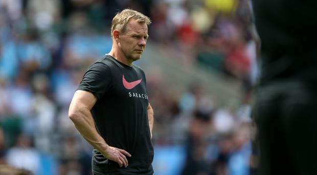 Mark McCall has been at Saracens since 2009. (Paul Harding/PA)