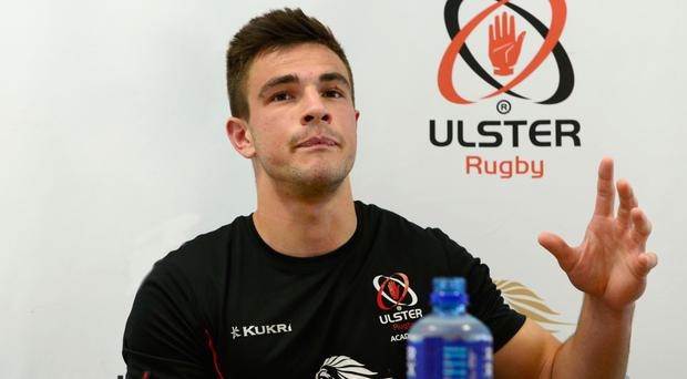 Injury blow: Iwan Hughes will play no further part in the U20 World Championship after suffering a finger issue