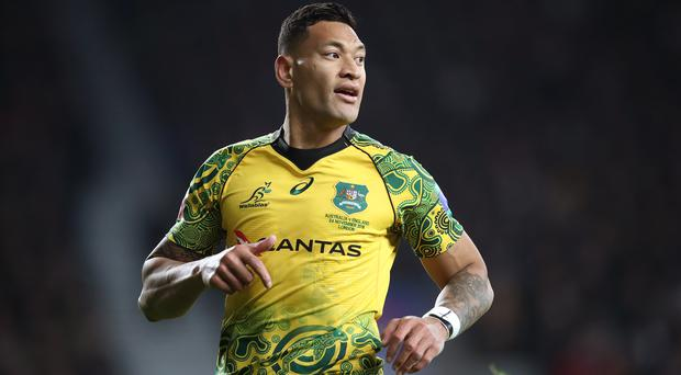 Israel Folau could play for Tonga in the 2023 World Cup (Adam Davy/PA)