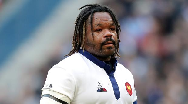Mathieu Bastareaud has been left out of France's squad (Adam Davy/PA)