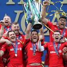 Saracens will aim to defend their European title next season (David Davies/PA)