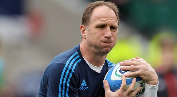 Italy coach Mike Catt will join Ireland as attack coach after the World Cup. (Andrew Matthews/PA)