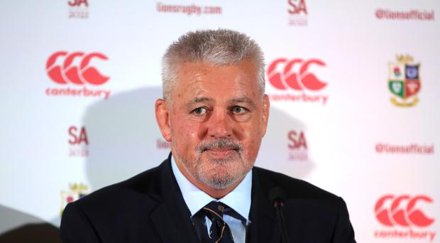 Warren Gatland has inked a four-year deal with the Gallagher Chiefs (Adam Davy/PA)