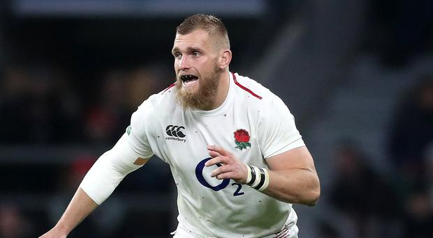 Brad Shields is to return home from England's training camp in Italy after suffering a foot injury (Adam Davy/PA)