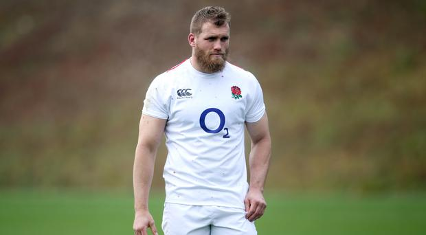 England's Brad Shields could miss the World Cup (Steve Paston/PA)