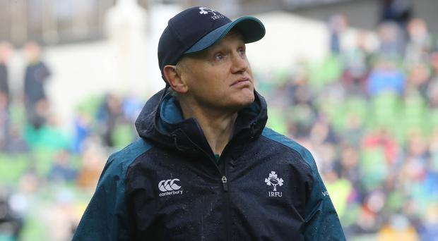 Joe Schmidt, pictured, has returned to New Zealand after a family bereavement (Lorraine O'Sullivan/PA)
