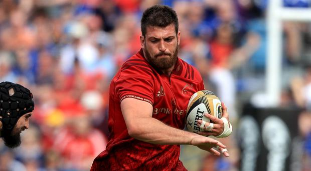 Munster's Jean Kleyn will make his Ireland debut against Italy on Saturday (Donall Farmer/PA)