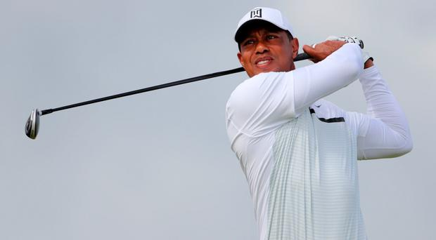 Pain: Tiger Woods is struggling for fitness