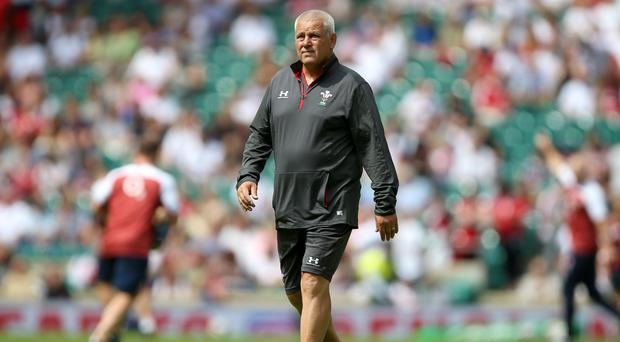 Wales head coach Warren Gatland said his players need to perform against England (Nigel French/PA)