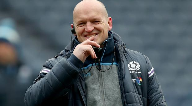 Gregor Townsend, pictured, will give a debut to Blade Thomson (Jane Barlow/PA)