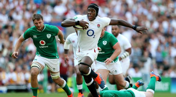 Maro Itoje scored a try and was a standout performer for England (David Davies/PA)