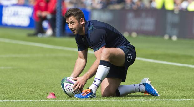 Greig Laidlaw led Scotland to victory over France (Ian Rutherford/PA)