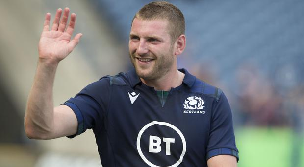 Finn Russell has warned his Scotland team-mates not to slip up against Georgia (Ian Rutherford/PA)