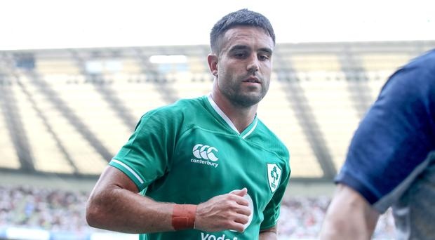 Kick on: Ireland have relied on Conor Murray's kicking game