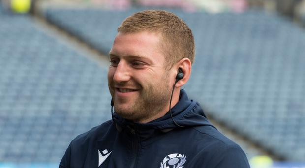 Laid-back: Finn Russell will lead Scotland's attack in Japan