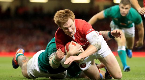 Rhys Patchell is back in the Wales line-up (PA)