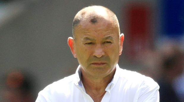 Eddie Jones' England were delayed on their arrival in Japan (Adam Davy/PA)