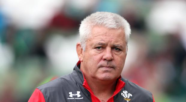 Warren Gatland's Wales side open their World Cup campaign against Georgia on September 23 (Brian Lawless/PA)