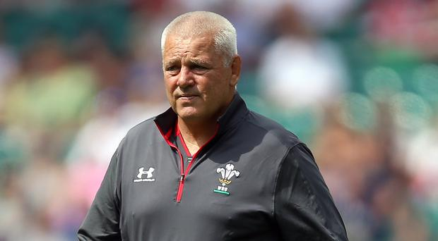 Warren Gatland believes that humidity is going to be a factor during the tournament (Nigel French/PA)