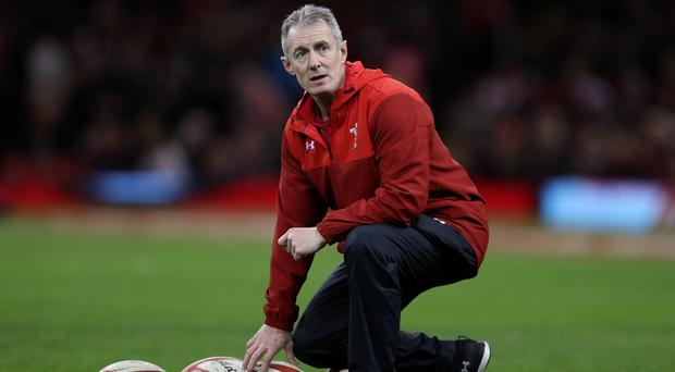 Wales assistant coach Rob Howley has been sent home from the World Cup (David Davies/PA).