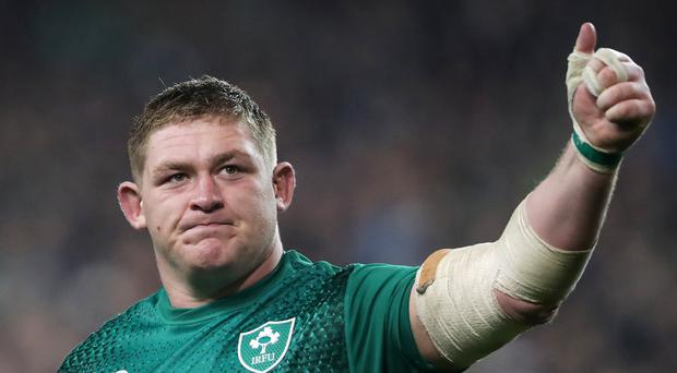 Tadhg Furlong, pictured, has thrown his weight behind Rory Best's captaincy (Niall Carson/PA)