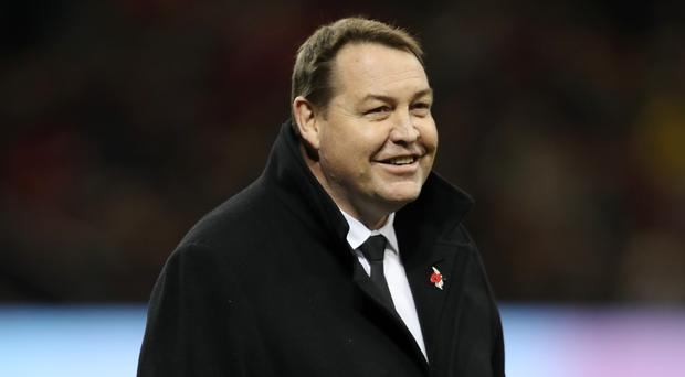 Steve Hansen's New Zealand are on the hunt for a third successive World Cup (David Davies/PA)