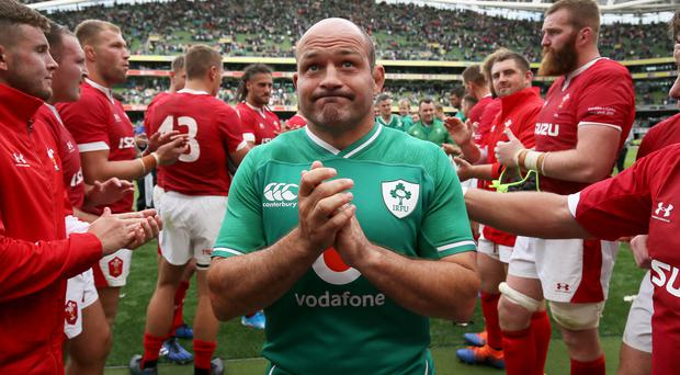 Rory Best, pictured, has been handed a significant endorsement of his captaincy from Brian O'Driscoll (Brian Lawless/PA)