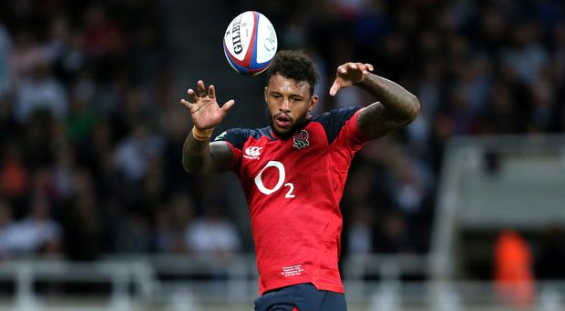 Courtney Lawes will be a key figure for England in the World Cup (Richard Sellers/PA)