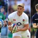 England, Ireland and Scotland are all in action on Sunday (Adam Davy, Gareth Fuller, Steven Paston/PA)