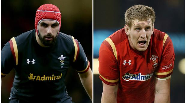 Cory Hill has been replaced in the Wales squad by Bradley Davies (David Davies/PA)