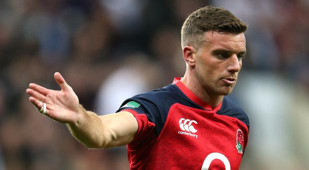 George Ford has urged England to remain disciplined against the USA (Nigel French/PA)