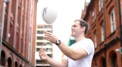 Positive message: Former Ulster and Ireland player and campaign ambassador for Tackle Your Feelings Darren Cave