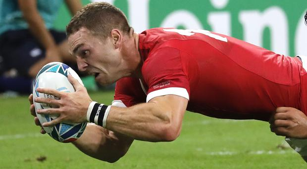 George North knows Wales have to be at their best against Australia (Christophe Ena/AP)